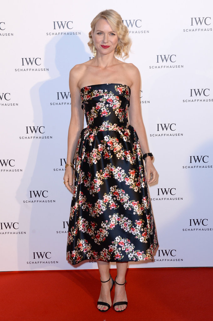 Naomi Watts attended the IWC 'For the Love of Cinema' event at Cannes.