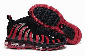 2012 new black and red nike air foamposites max 2009 mens shoes 27249