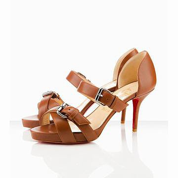 Christian Louboutin Atalanta 85mm Sandals Beige 26226