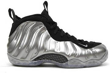 Air Foamposites One Metallic Pewter/Black-Penny Hardaway Shoes 73121