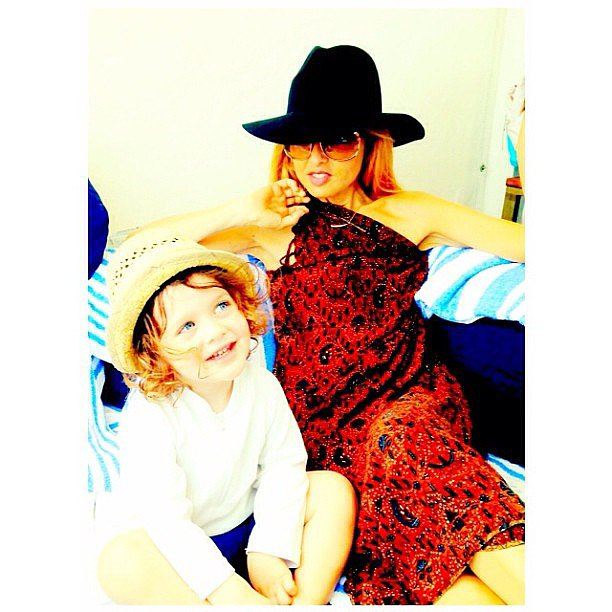Rachel Zoe reflected back on her Mother's Day with little Skyler. Source: Instagram user rachelzoe