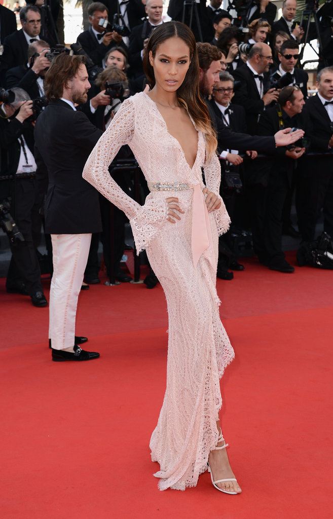 Joan Smalls wore Emilio Pucci at the Cannes premiere of Behind the Candelabra.