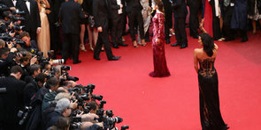 From Airport to Red Carpet, Megan Gale Shows Us a Day in the Life at Cannes