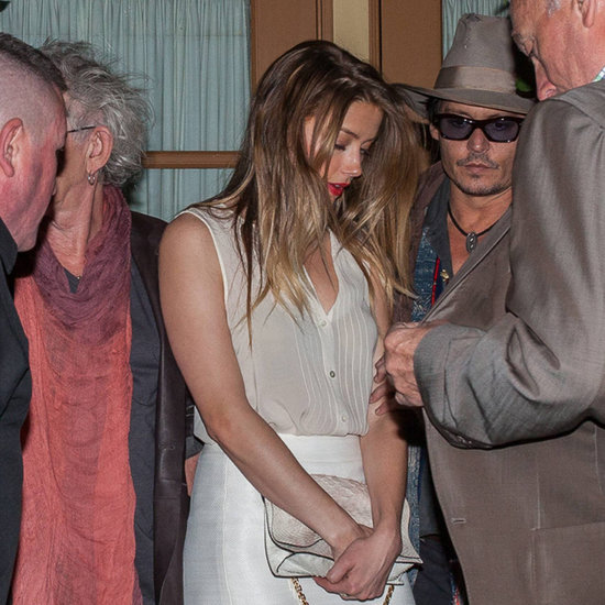 Johnny Depp and Amber Heard on a Date With Keith Richards