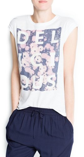 """""""Delicious"""" printed t-shirt"""
