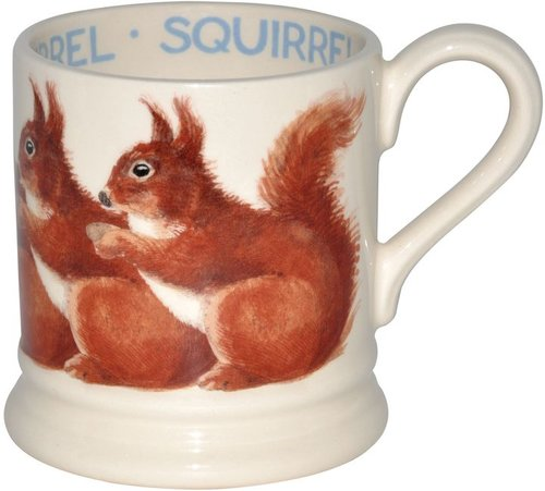 Emma Bridgewater Squirrel 1/2 pint mug