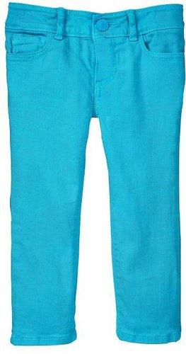 Neon skinny jeans