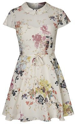 Ted Baker GRACEL Dress white