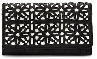 Black Cut Out Purse