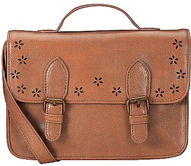 John Lewis Girl Satchel, Tan