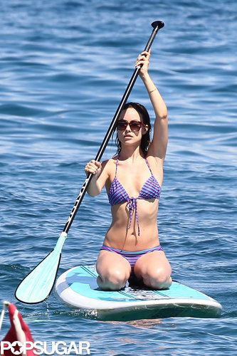 Olivia Wilde broke out her bikini in Hawaii while vacationing in May 2013.