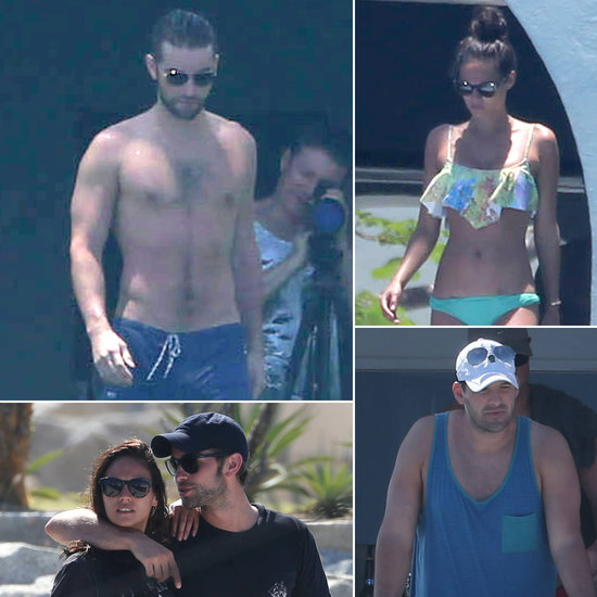 Chace Crawford Keeps It in the Family During Shirtless Cabo Trip