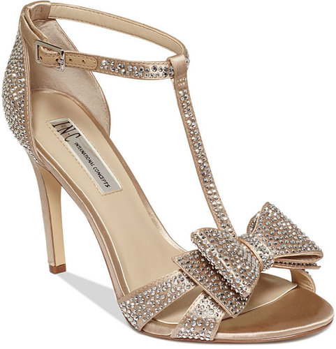 INC International Concepts Women's Shoes, Reesie Evening Sandals