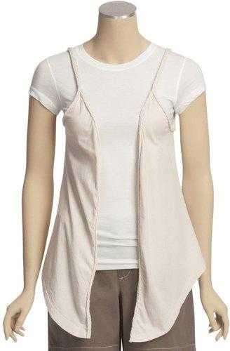 True Grit Braided Flower Vest (For Women)