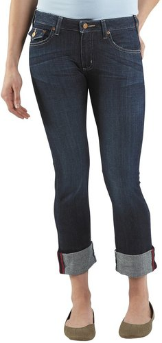 Carhartt Curvy-Fit Denim Cropped Pants (For Women)