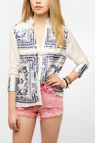 Insight Silky Bandana Blouse