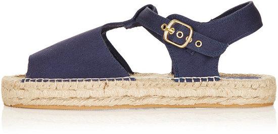 HAHA Peep Espadrille Sandals