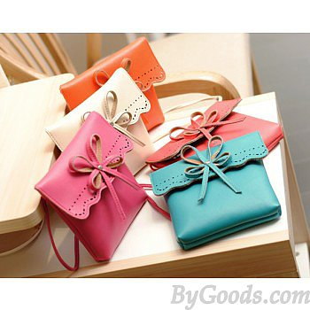Fashion Hollow Bow Shoulder Bag