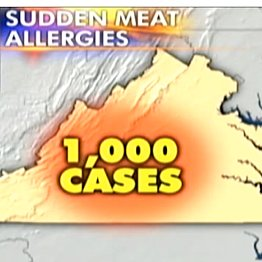 Tick Causes Meat Allergy