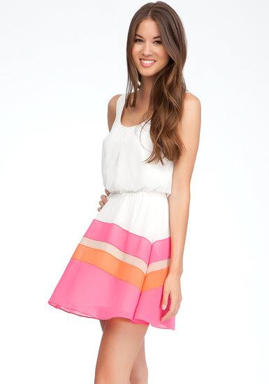 Caroline Colorblock Dress