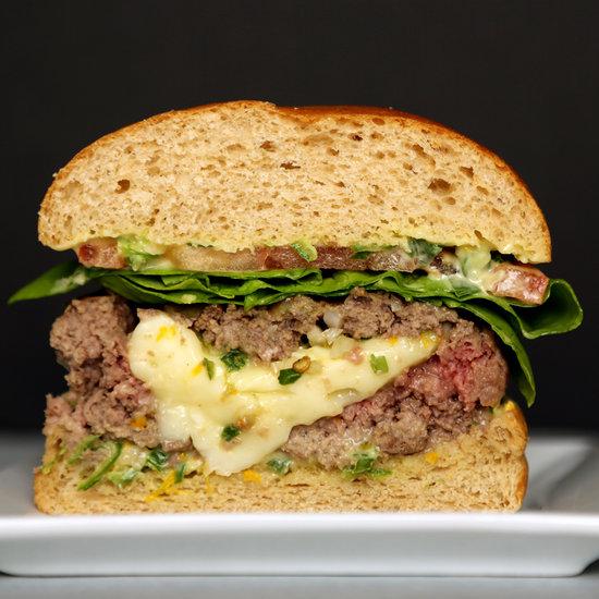 Brie Burger Recipe