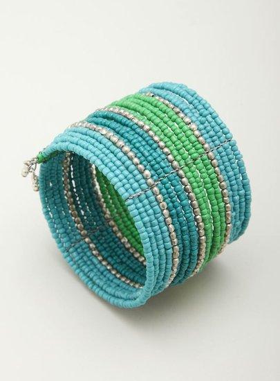 Stephan & Co Multi Row Beaded Bracelet