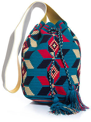 Sophie Anderson Sofia hand-woven bag