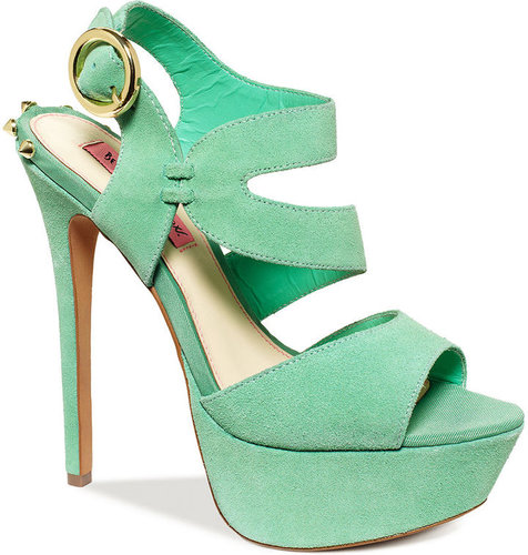 Betsey Johnson Shoes, Endall Platform Sandals