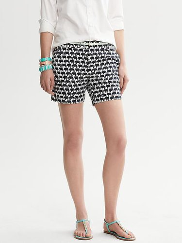 Milly Collection Elephant Print Short
