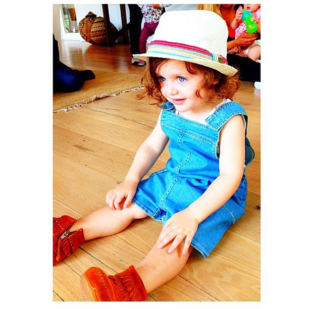 Skyler Berman was dressed to the nines on Memorial Day. Source: Instagram user rachelzoe