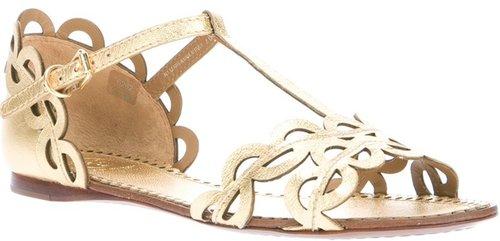 Tory Burch 'Aileen' flat sandal