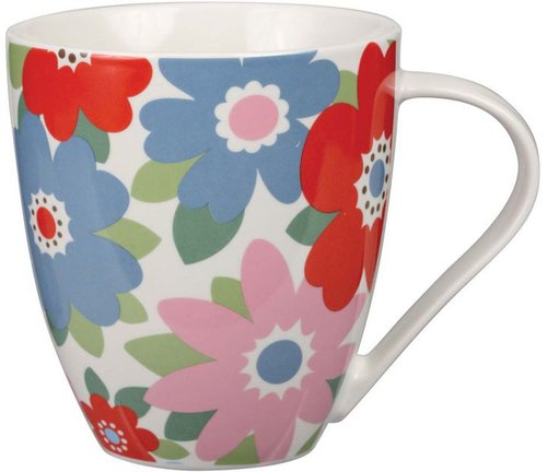 Cath Kidston Retro flowers crush mug