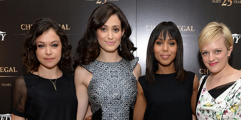 Kerry Supports Her Fellow Small-Screen Ladies as the Emmys Draw Near