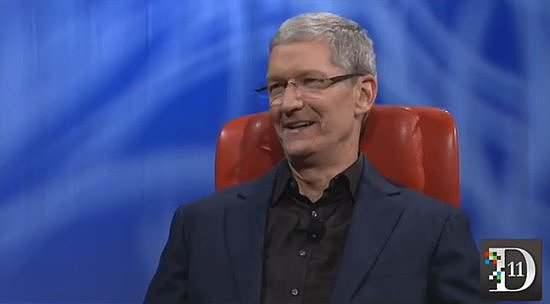 Tim Cook Talks Wearable Tech