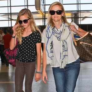 Reese Witherspoon and Ava Phillippe at LAX | Pictures