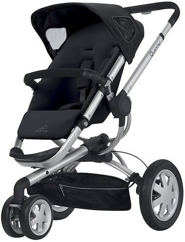 Quinny Buzz Stroller - Rocking Black