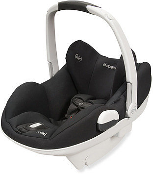 Maxi Cosi® Prezi® Infant Car Seat -  Devoted Black with White Handle