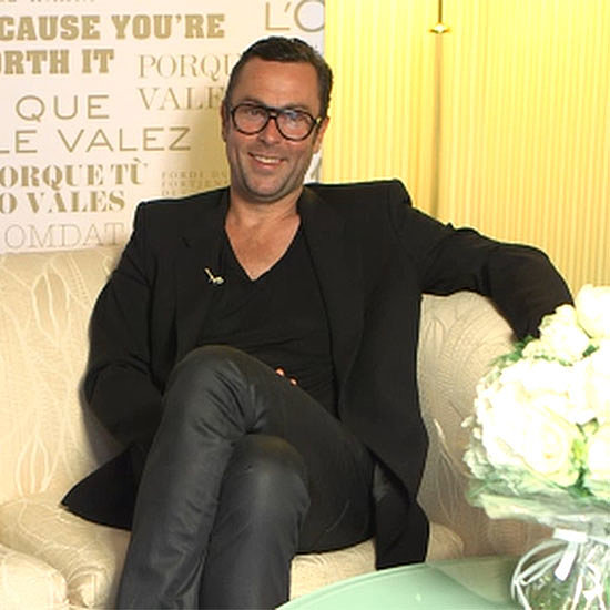 Hair Colorist Christophe Robin Interview | Video