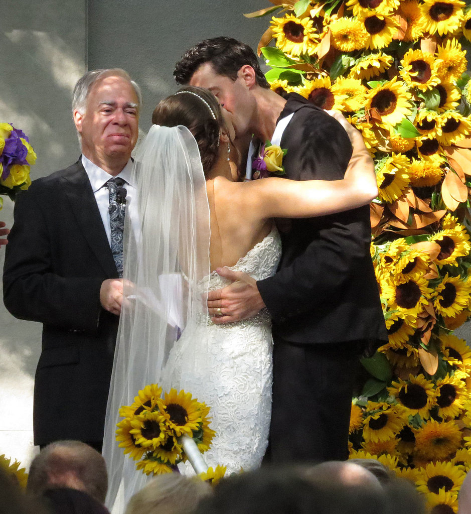 American Idol's Ace Young married Diana DeGarmo at Luxe Hotel in Brentwood, CA, in June.