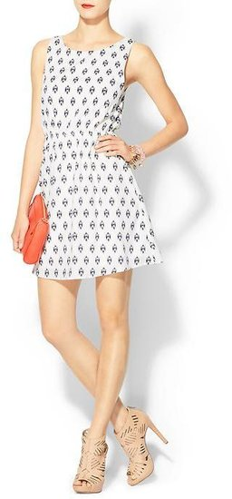 Everly Clothing Ikat Print Dress