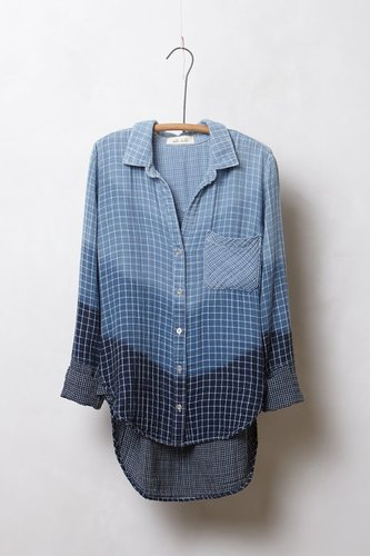 Ombre Checkers Buttondown