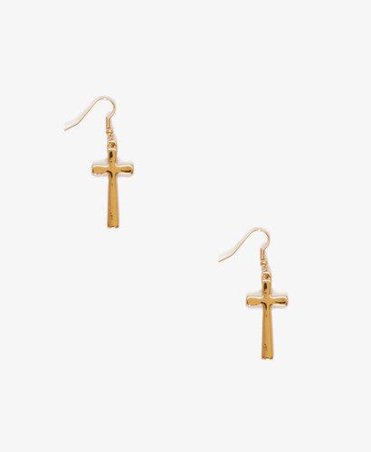 FOREVER 21 Cross Earrings