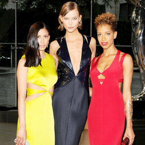 Models and Celebrities With Designers | CFDA Awards 2013