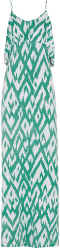 Tart Genie printed stretch-jersey maxi dress