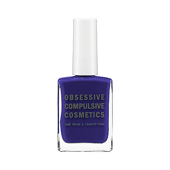 Feeling nautical? Obsessive Compulsive Cosmetics Nail Lacquer in Pond ($10) is a creamy shade of navy that will look fabulous against red, white, and a golden tan.