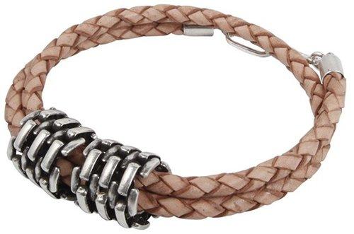 Jean Leather Bracelet in Tan