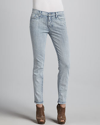 J Brand Jeans Bleached Skinny Jeans