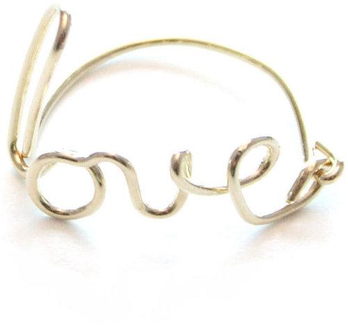 Paris Love Ring Gold