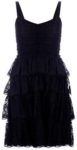 Dolce & Gabbana lace tiered dress