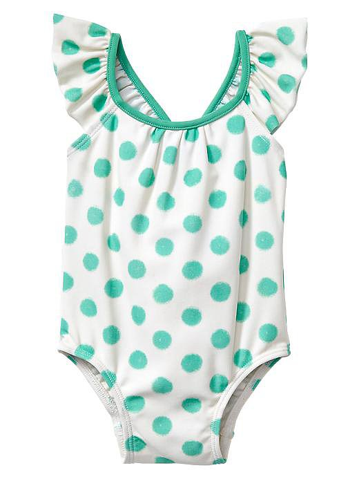 Gap Polka-Dot Flutter One-Piece